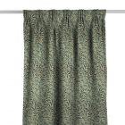 Willow Boughs Taupe/Green Gardinlängd