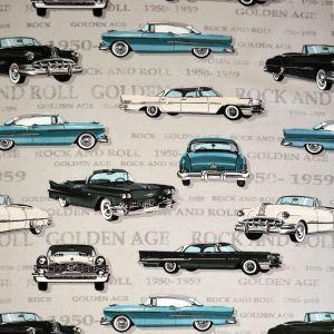 Cadillac Turkos Tyg