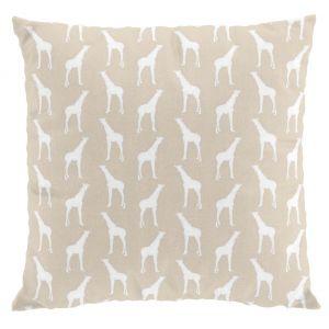 Giraff Beige Kuddfodral