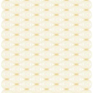 Fujisan Vit/Guld Gardinlängd