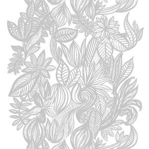 Doodle Vit/Grå Tyg