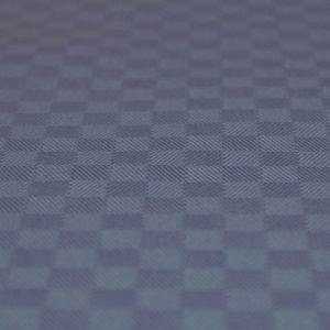 Chess Mediumblå Gardinlängd