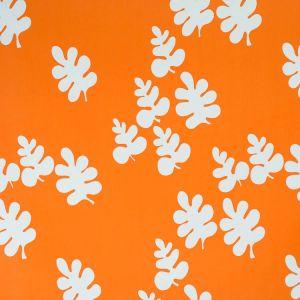 Glada Blad Orange Tyg