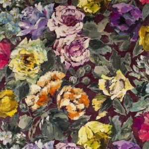 Bloomsbury Rose Damson Gardinlängd