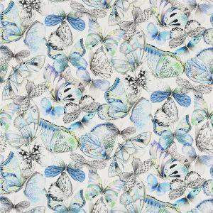 Papillons Cobalt Gardinlängd