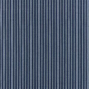 Bungalow Stripe Indigo Tyg