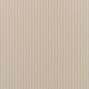 Amelot Ticking Linen Blue Panelgardin