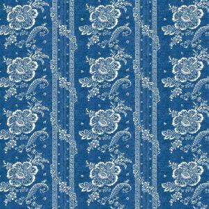 Batik Florette Chambray Blue Tyg
