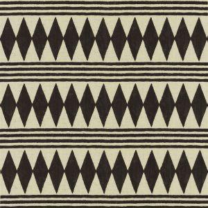 Bambara Cloth Ebony Gardinlängd