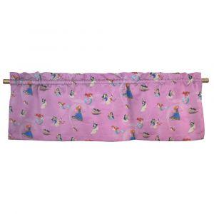 Disney-prinsessor Mini Rosa Veckad gardinkappa