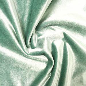 Roma Sammet Mintgrön Gardinlängd