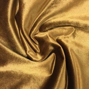 Roma Sammet Guld Tyg