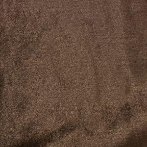 Roma Sammet Mörkbrun Tyg