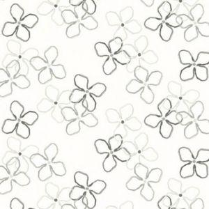 Flower Grå Gardinlängd