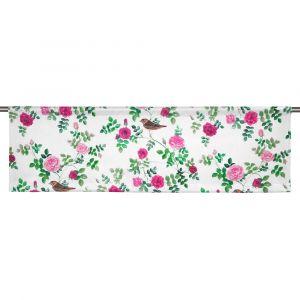 Näktergalen Rosa digitaltryck Slät gardinkappa