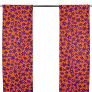 Anemone Mini Lila/Röd Panelgardin