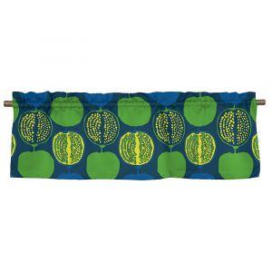 Pomegranate Big Blå/Grön Veckad gardinkappa