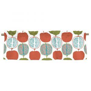 Pomegranate Big Turkos Veckad gardinkappa
