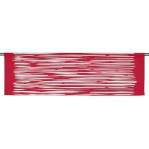 Mareld Röd Slät gardinkappa