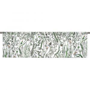 Gräs Grön Slät gardinkappa