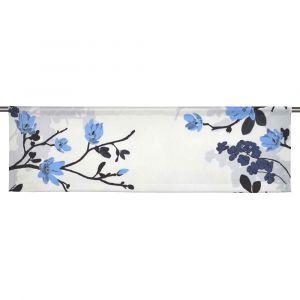 Grandiflora Ljusblå Slät gardinkappa