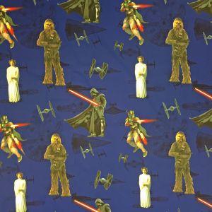 Star Wars Force Blå Slät gardinkappa