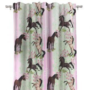 Hästar Gardinlängd