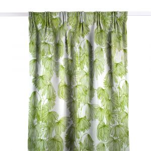 Palma Grön Gardinlängd