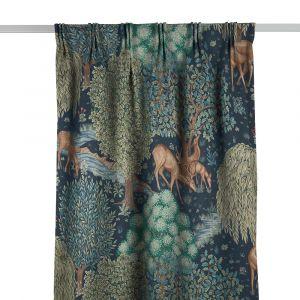 The Brook Tapestry Blue Gardinlängd