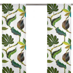 Tahiti Grön/Natur Panelgardin