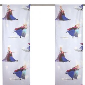 Elsa Frost Ljusblå Panelgardin