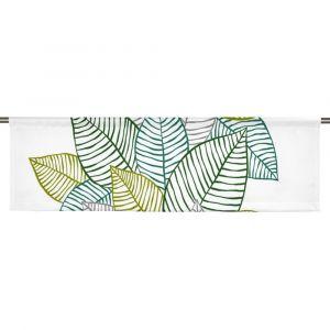 Jolster Grön Slät gardinkappa