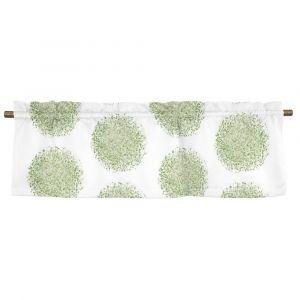 Nova grön Veckad gardinkappa