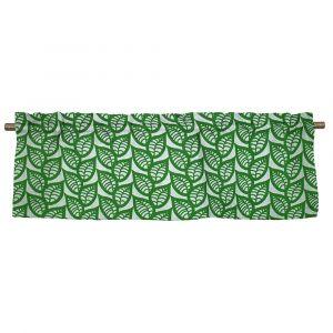 Ranka Grön Veckad gardinkappa