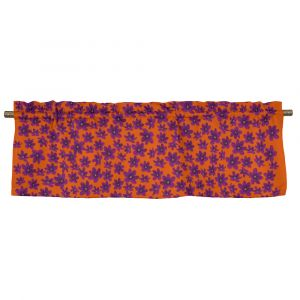 Anemone Mini Lila/Röd Veckad gardinkappa
