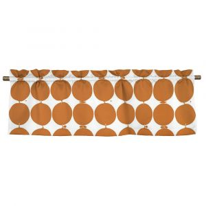 Tallyho Orange Veckad gardinkappa