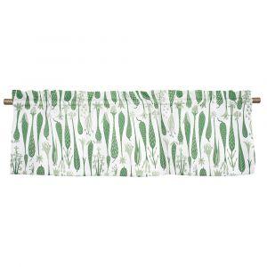 Printemps Grön Veckad gardinkappa