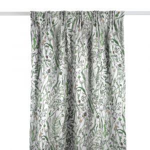 Gräs Grön Gardinlängd