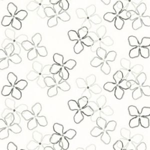 Flower Grå Panelgardin