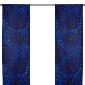 Oomph Blå Panelgardin