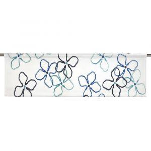 Flower Kronblå Slät gardinkappa
