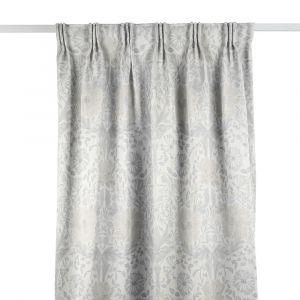 Pure Honeysuckle & Tulip Embroidery Lightish Grey Gardinlängd