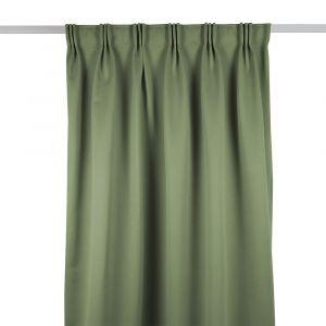 Grön Mörkläggningsgardin Siv
