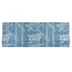 Batik Florette Chambray Blue Hissgardin