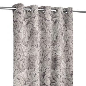 Pure Acanthus Weave Inky Grey Öljettlängd