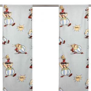 Asterix och Obelix Panelgardin