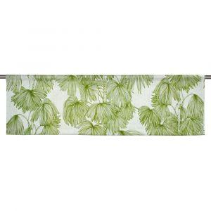 Palma Grön Slät gardinkappa