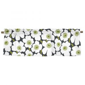 Pieni Unikko Grön Veckad gardinkappa