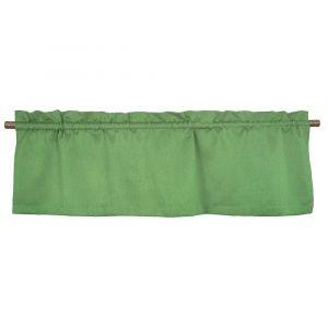 Yngve Envy Green Veckad gardinkappa