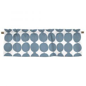 Tallyho Blå Veckad gardinkappa